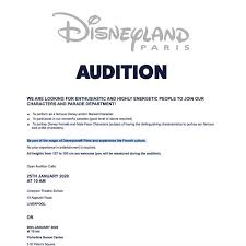 disneyland paris is hiring princes and