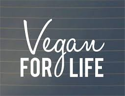 Decal Vegan For Life Car Decal Vinyl Decal Vegan Car Decal Vegan Sticker Vegan Gift Vegan Bumper Sticker Laptop Decal Sticker Vinyl Decals Laptop Decal Car Decals