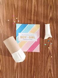 diy gender reveal confetti cannon