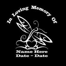 20 In Loving Memory Decals Ideas In Loving Memory Loving Vinyl Window Decals