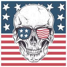 Vinyl American Flag Car Stickers Vehicle Decals