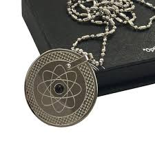 scalar infraded germanium stone pendant
