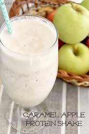 caramel apple protein shake maybe i will