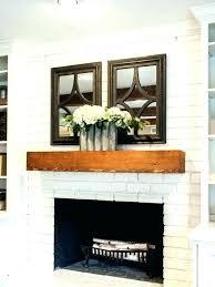 reclaimed brick fireplace designs