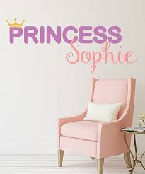 Lollipop Walls Princess Personalized Wall Decal Zulily