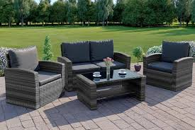 rattan sofa set garden deals in hull