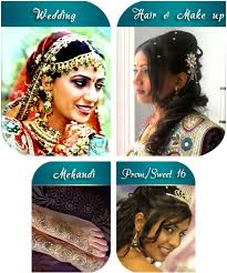 indian wedding hair makeup artist in