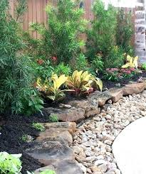 front yard rock landscaping ideas