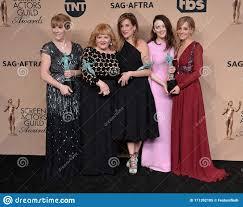 Phyllis Logan, Lesley Nicol, Raquel Cassidy, Sophie McShera & Joanne  Froggatt Editorial Image - Image of famous, raquel: 171392185