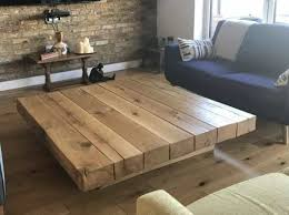 wooden coffee table design ideas