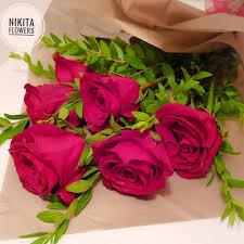 Nikita Flowers صباح الورد الطبيعي باقة ورد طبيعي من Facebook