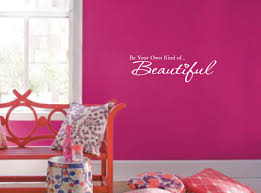 Be Your Own Kind Of Beautiful Vinyl Wall Decal 1152 Innovativestencils