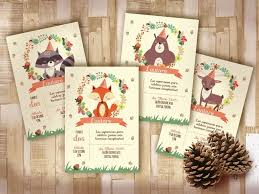 Kit Animalitos Del Bosque Imprimibles Personalizables