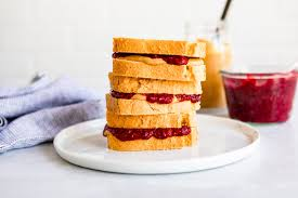 peanut er and keto jelly sandwich