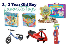 gifts for 3 year old boy