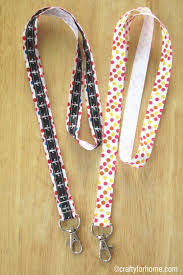 easy ribbon lanyard crafty for home