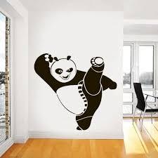 Wall Decal Vinyl Sticker Nursery Gift Kung Fu Panda Heroes Animals A146 Panda Things