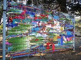 Fence Weaving Fence Weaving Outdoor Outdoor Art