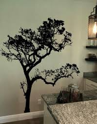 Big Oak Tree Wall Decal 409 Stickerbrand