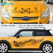Color Name 2pair Set Waterproof Universal Auto Modifield Natural Flower Vine Dragonfly Decal Car Stickers Decals Bumper Stickers Itrainkids Com