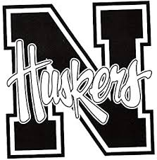 Amazon Com 3 Inch Black N Logo University Of Nebraska Huskers Nu Cornhuskers Removable Wall Decal Sticker Art Ncaa Home Room Decor 3 By 3 Inches Baby