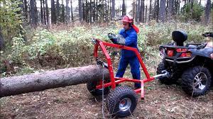 atv log hauler you