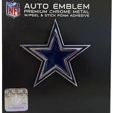 Dallas Cowboys Premium Solid Metal Chrome Plated Car Auto Emblem