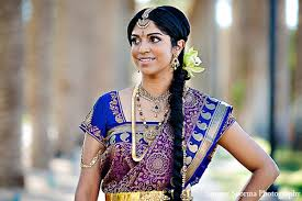 indian bridal outfit makeup hairstyle
