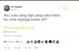 ramai comot kutipan orang netizen buat plisjangandicopas