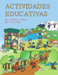 Actividades Educativas Para Ninos Y Ninas De 7 A 11 Anos By Dario