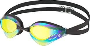 Amazon | ビュー(VIEW) スイミングゴーグル 水泳 競泳用 スイミングゴーグル ブレード オルカ クリアフレームシリーズ ミラーレンズ スワイプアンチフォグ搭載 Fina承認 V230SAMC | VIEW(ビュー) | スイミングゴーグル