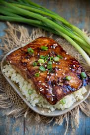 Low-Carb Teriyaki Salmon (Keto-Friendly ...