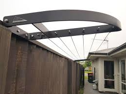 Swiftdry Stream Line Clothesline Black Finish Clotheslines Home Outdoor Living Trade Tested