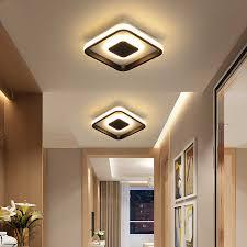 square round modern led ceiling lights