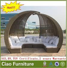 big garden furniture rattan lounge sun