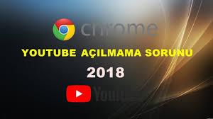 Chrome'da Youtube Açılmama Sorunu Çözümü (2019) - YouTube