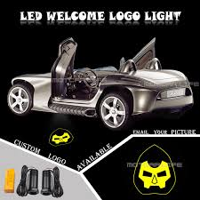 Universal Fit Car Door Courtesy Welcome Light Laser Doctor Doom Victor Logo Light Welcome Ghost Shadow Puddle Emblem Spotlight Decorative Lamp Aliexpress
