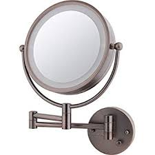 wall mounted cosmetic mirror