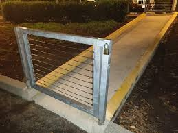 This Useless Fence Gate With A Useless Padlock Crappydesign