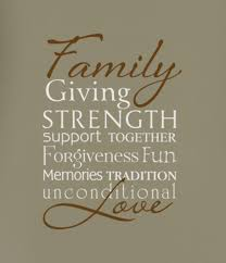 Family Giving Strength Memories Tradition Unconditional Love Support Together Forgiveness Fun V2 Decal Advanced Options Decorate With Wall Decals Letters Quotes Words Wisedecor Wall Lettering