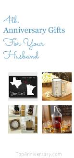 4th wedding anniversary gift ideas for
