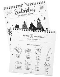 Sinterklaas Aftelkalender En Doe Boek Zoedt Simpel En Puur
