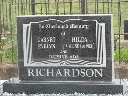 Garnet Evelyn Richardson (1877 - 1955) - Genealogy