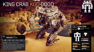 BATTLETECH :: 'Mech Highlight - King Crab