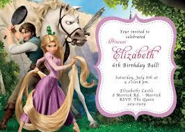 Invitacion 2 Invitaciones De Rapunzel Fiestas De Rapunzel Cumpleanos Rapunzel