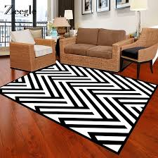 Zeegle Zebra Design Carpets For Living Room Non Slip Floor Mat Kids Room Bedroom Carpets Bedside Rugs Office Chair Floor Mats Carpet Aliexpress