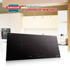 Bếp điện từ đôi SHB DI02 - Bếp từ Sunhouse - Điện máy khát vọng