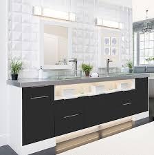 modern double sink bathroom vanities