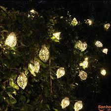 KS758 Dải đèn LED trang trí sân vườn Kcasa hình chiếc lá cây