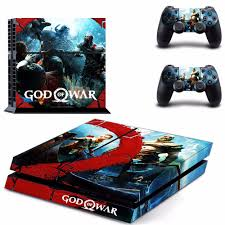 Game God Of War 4 Ps4 Skin Sticker Consoleskins Co